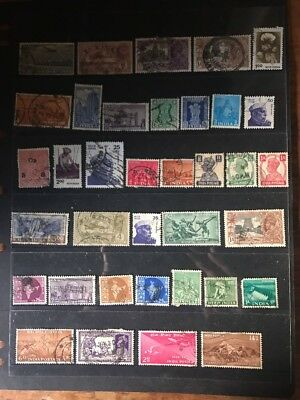 stamps  India - Used - Lot 478