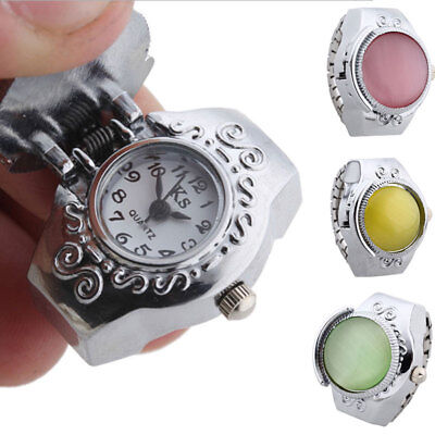 Ring-Watch Fashion Decoration Ornament Elastic-Belt Bettery-Operated Quartz