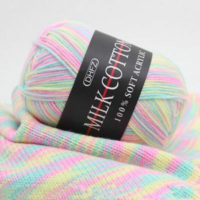 Mixed Job Lot 23 colour 50g DK knitting Crochet Milk soft wool Yarn Baby cotton