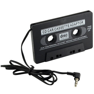 Car Audio Cassette Adapter Tape 3.5mm Adaptor For iPod MP3 CD MD Player iPhone