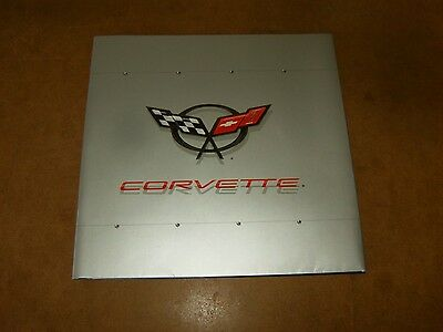 CHEVROLET CORVETTE C5 50TH ANNIVERSARY SPECIAL EDITION catalogue brochure FR