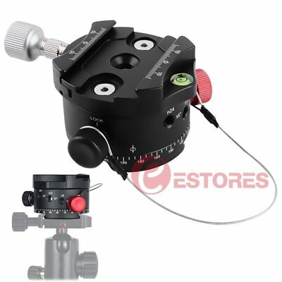 【AU】DH-DH-6 Panoramic Panorama Indexing Rotator Ball Head For Tripod Head Camera