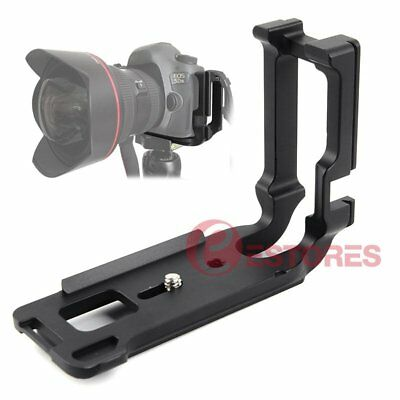 【AU】L-Plate Vertical Bracket Quick Release Hand Grip Holder For Canon 5DS Camera