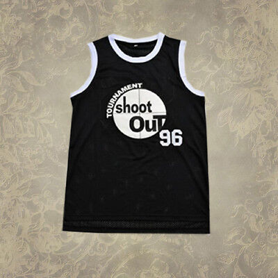 Tournament Shoot Out Basketball Jersey Birdie #96 Above The Rim Movie Black New