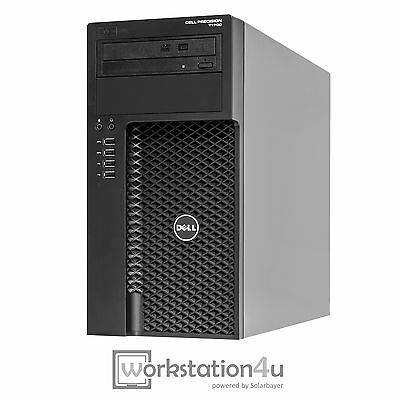 Dell Precision T1700 Workstation Xeon E3-1240Lv3 16GB RAM 1TB HDD Quadro2000 W10