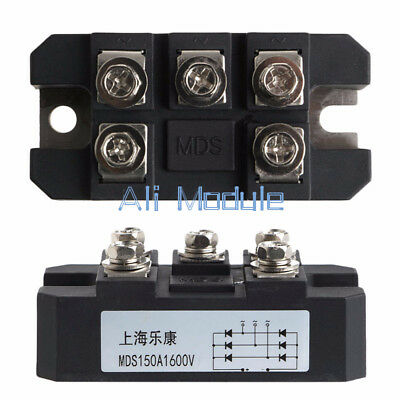 MDS 150A 1600V Three-phase Diode Bridge Rectifier Module Board