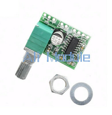 5 PCS PAM8403 5V 2 Channel USB Power Audio Amplifier Board 3Wx2W Volume new