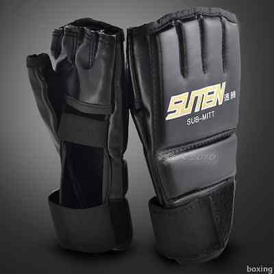 The New style Half Fingerless MMA Muay Thai  Boxing Gloves Gym Strong Tranning