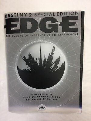 Edge Magazine Issue 310 October 2017 Destiny 2 Special Edition Bungie Plan Fps