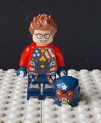 Justin Hammer Official Lego Minifigure - Brand New (Split From 76077)