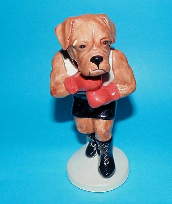 Beswick figurine ornament Boxing dog ' Its a Knock out ' Sc3 1st Quality
