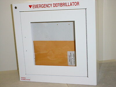Zoll AED 8000-0855 Surface Wall Mount Standard Size Cabinet with Audible Alarm