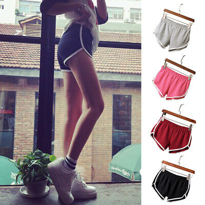 Summer Pants Women Sports Shorts Gym Workout Casual Waistband Skinny Yoga Short