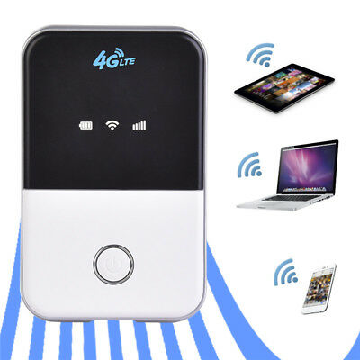 Wireless 4G Router LTE Wifi Router Modem Mifi Mobile Hotspot with SIM Card Slot