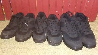 Liberts Black HIP HOP Dance SHOES  Sizes 3.5,6,9 used  Style 217