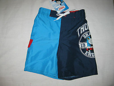 BNWT   GORGEOUS    THOMAS & FRIENDS    BOARD  SHORTS    size  2