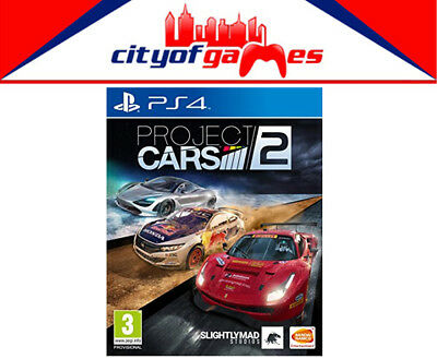 Project Cars 2 PS4 Game New & Sealed Free Express24 Hour Special Offer Ends 12am