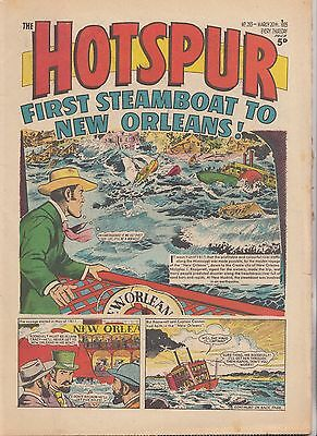 DC THOMSON - THE HOTSPUR COMIC - No.283 - March 20th 1965