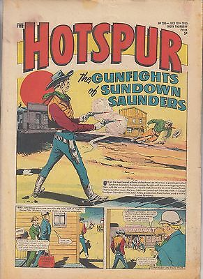 DC THOMSON - THE HOTSPUR COMIC - No.299 - July 10th 1965