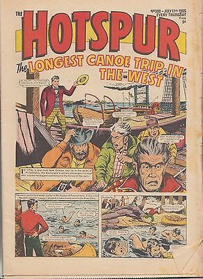 DC THOMSON - THE HOTSPUR COMIC - No.300 - July 17th 1965