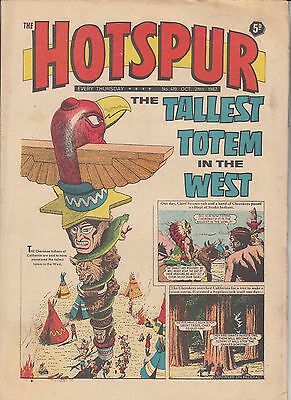 DC THOMSON - THE HOTSPUR COMIC - No.419 - October 28th 1967