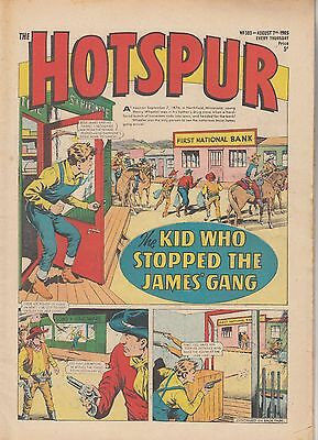 DC THOMSON - THE HOTSPUR COMIC - No.303 - August 7th 1965