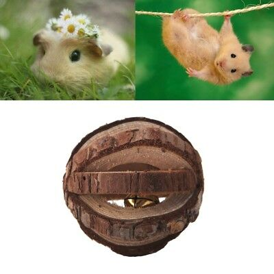 Wooden Watermelon Ball Cage Exercise Toys For Hamster Hedgehog Mouse Rat Guinea