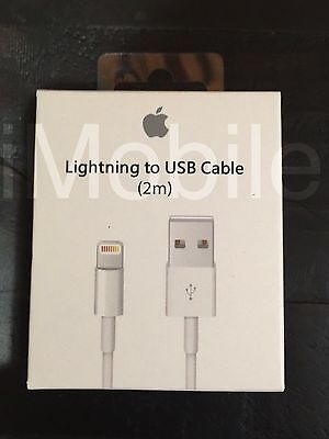 2M 6FT Original Genuine iPhone 6 6S PLUS iPhone 7/ 5s Lightning Charger Cable