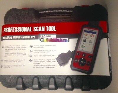 MD808 PRO Diagnostic Scan Tool AULMD808P Autel MaxiDiag NEW!