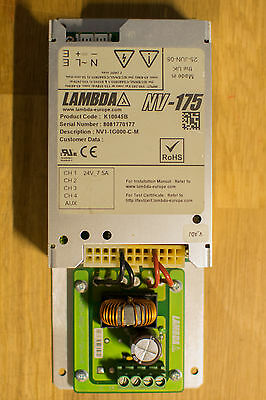 TDK-Lambda NV-175 24V 7.5A AC-DC Switch Mode Power Supply - LED STRIP LIGHT