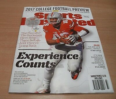 Sports Illustrated magazine 14-21 AUG 2017 College Football Preview & more