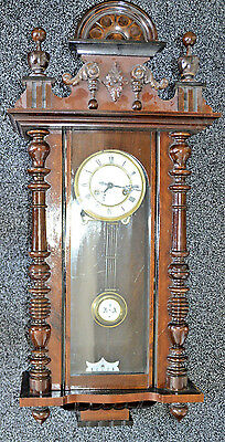 Antique Gustav Becker Vienna Wall Clock German