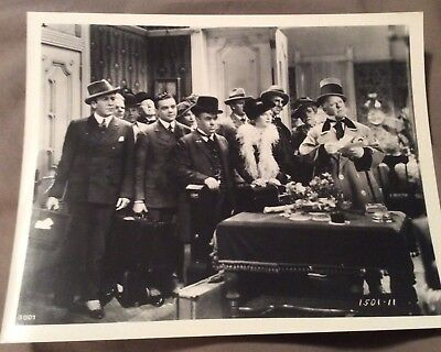 Authentic Black And White 8 X 10 Photograph WC Fields Movie
