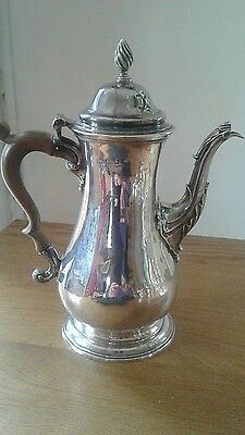 A Very Fine Georgian Silver Coffee Pot London 1767