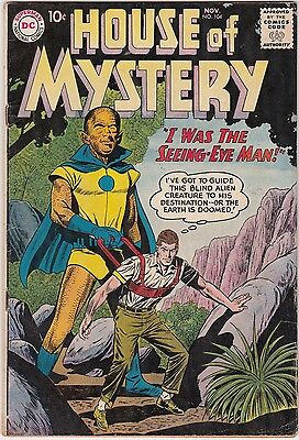 House of Mystery No. 104 Nov. 1960