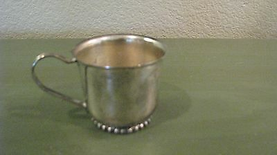 Leonard Silverplate Baby Cup with Handle