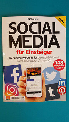 SFT Guide Social Media Magazin für Einsteiger Nr.13/17  ungelesen 1A abs. TOP
