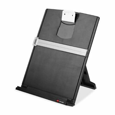 3M Desktop Document Holder with Adjustable Clip Holds Letter Legal and A4 Doc...
