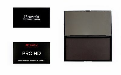 Freedom Makeup Pro HD REFILLABLE MAGNETIC PALETTE with Mirror Empty Z NEW IN