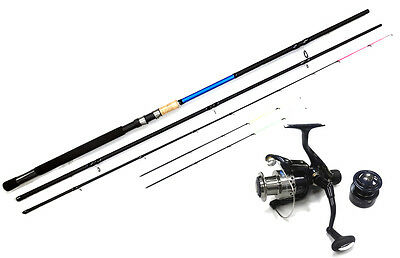 Lineaeffe Infinity Feeder Fishing Rod 12ft 3pc 3 Tips (Rod & Reel Combo Option)