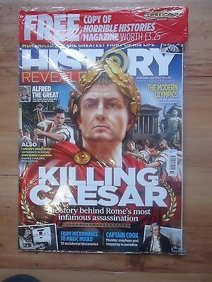 HISTORY REVEALED Magazine - August 2016 - Brand New With Free Gifts