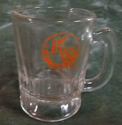 Vintage K-N Drive In~Root Beer Mug 3 1/4 Tall 2 1/4 Wide~Founded 1948 In Tx Tn