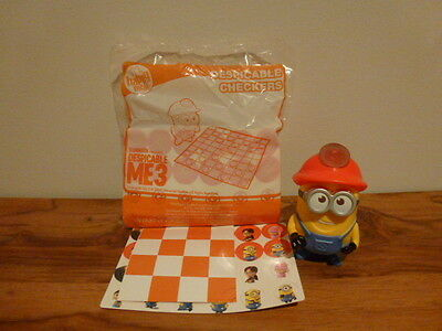 McDonalds Despicable Me 3 Happy Meal toy *** DESPICABLE CHECKERS ***