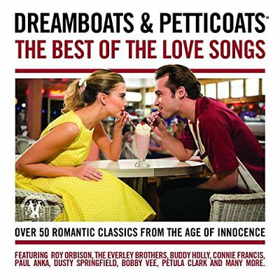 Dreamboats and Petticoats  The Best Of The Love Songs [CD] Sent Sameday*