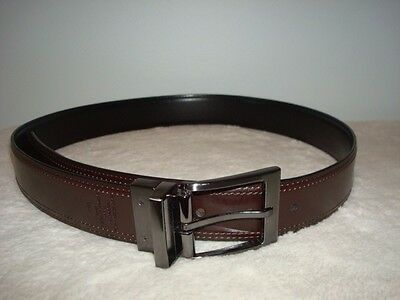 Men Brown Genuine Leather, Dickies Belt, Size 32 Excellent Condition
