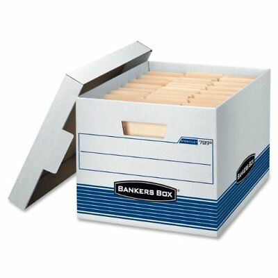 Bankers Box Stor/File Medium-Duty Storage Boxes Letter/Legal 4-Pack 0078907