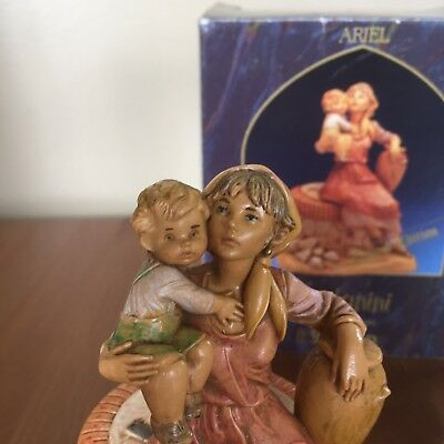 Fontanini Presepio Collection Ariel 1992 Village Well Limited Edition