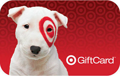 $50 Target Gift Card - FREE FAST shipping/tracking