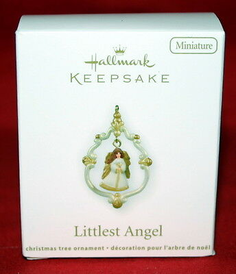 Hallmark Miniature Ornament 2011 Littlest Angel