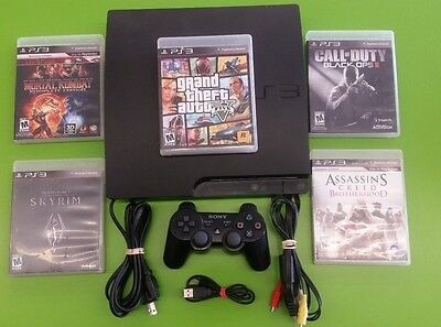 Playstation 3 PS3 120gb, 160gb  with controller and games